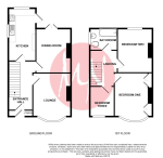 Floorplan of Maywood Crescent, Fishponds, Bristol, BS16 4AW